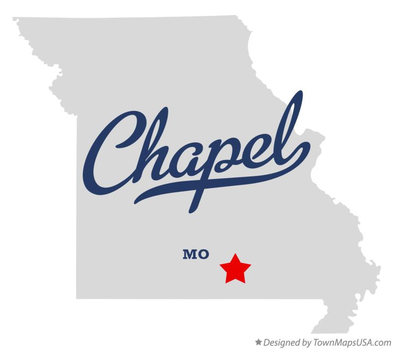 Map of Chapel Missouri MO