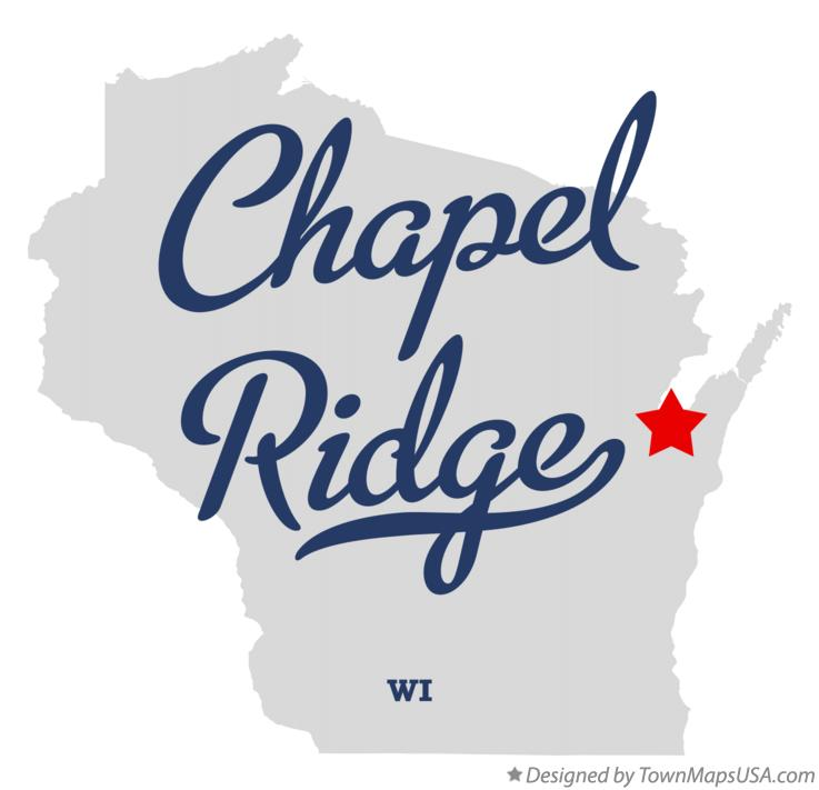 Map of Chapel Ridge Wisconsin WI