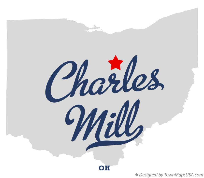 Map of Charles Mill Ohio OH