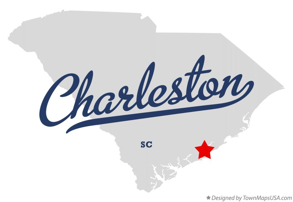 Map Of Charleston Sc South Carolina