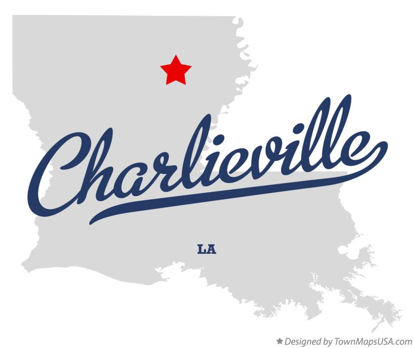 Map of Charlieville Louisiana LA