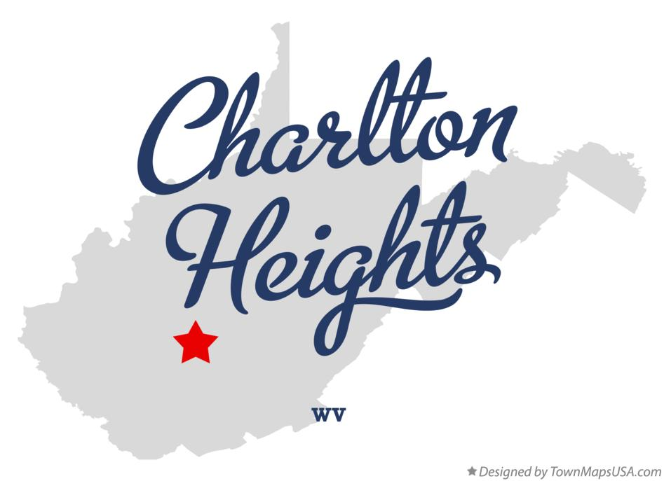 Map of Charlton Heights West Virginia WV