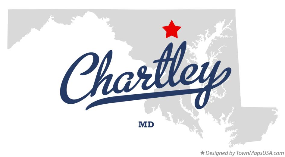 Map of Chartley Maryland MD