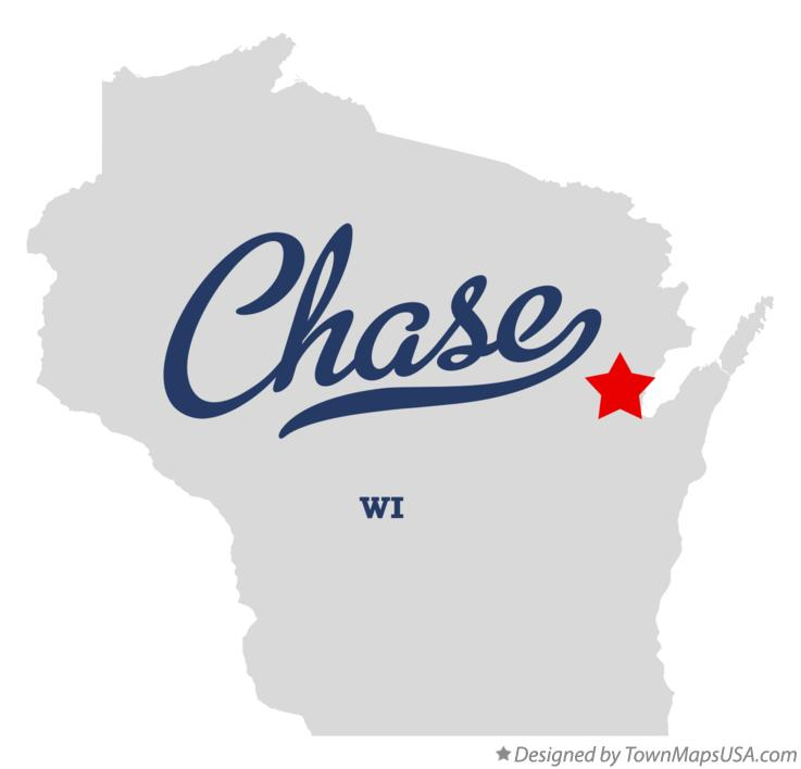 Map of Chase Wisconsin WI