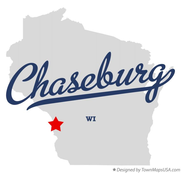 Map of Chaseburg Wisconsin WI