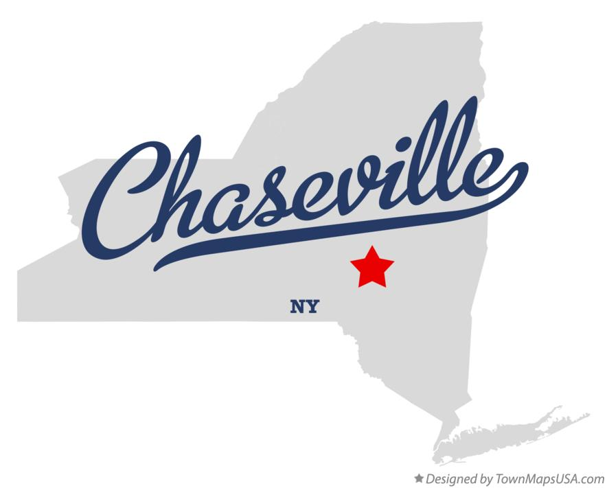 Map of Chaseville New York NY