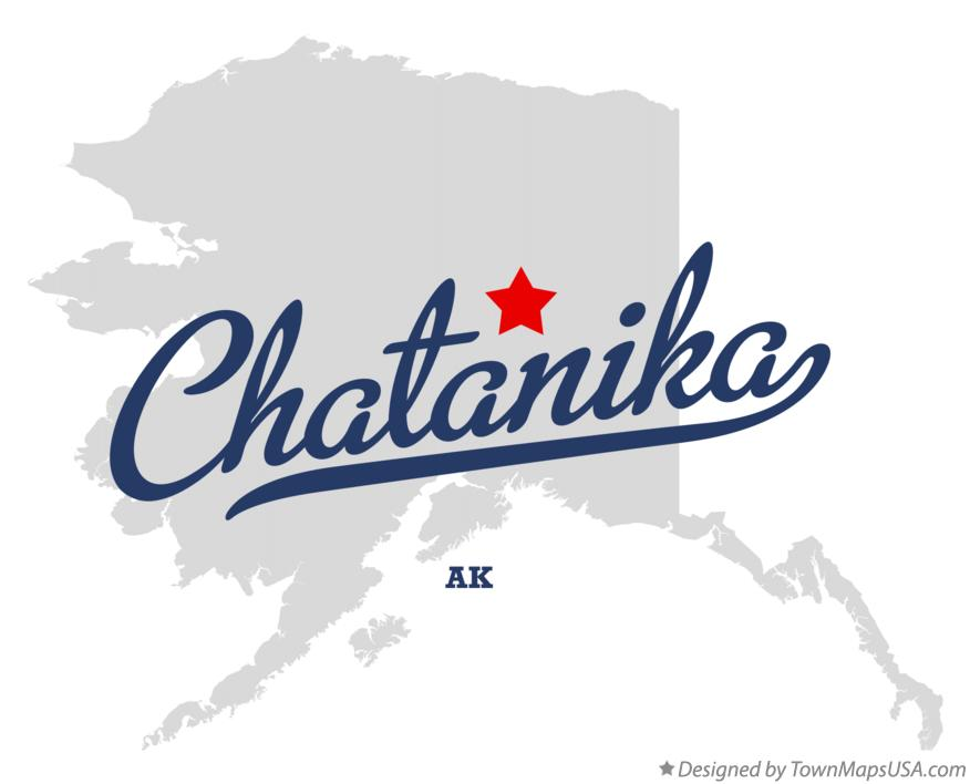 Map of Chatanika Alaska AK