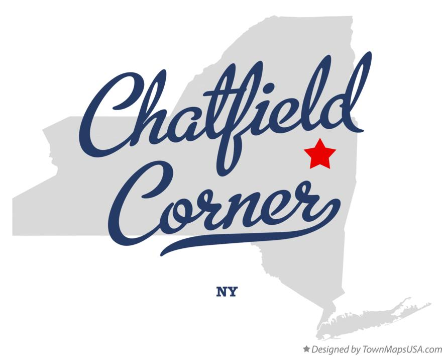 Map of Chatfield Corner New York NY