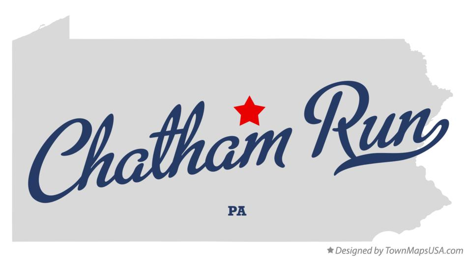 Map of Chatham Run Pennsylvania PA