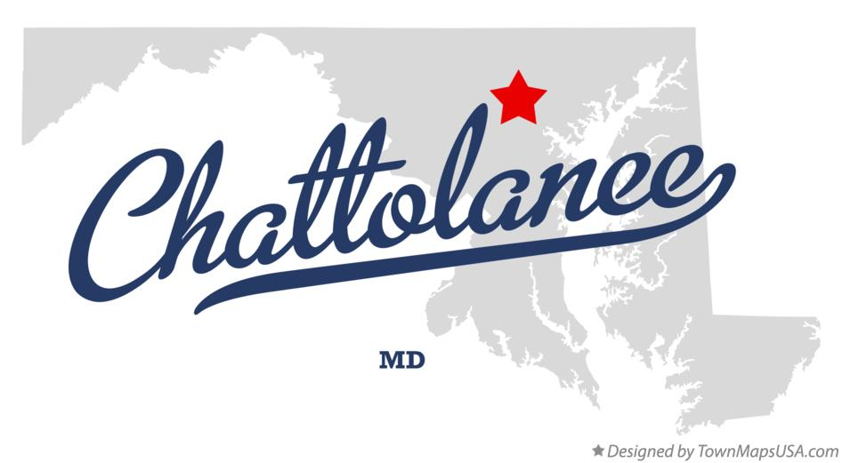 Map of Chattolanee Maryland MD