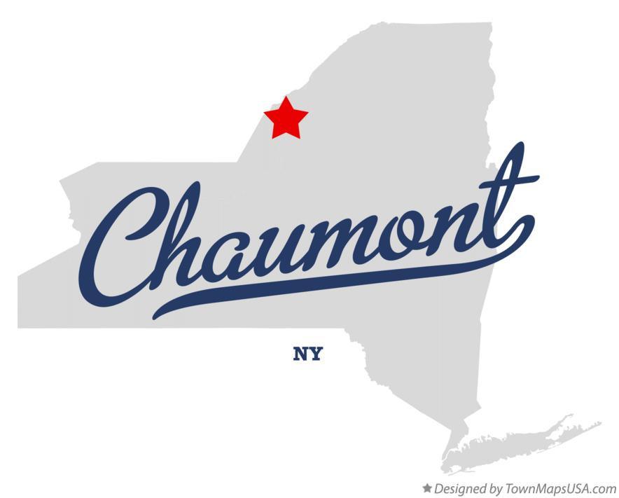 Map of Chaumont New York NY