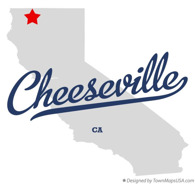 Map of Cheeseville California CA
