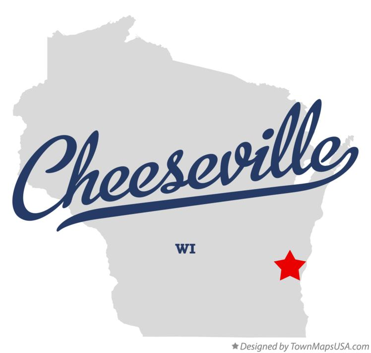 Map of Cheeseville Wisconsin WI