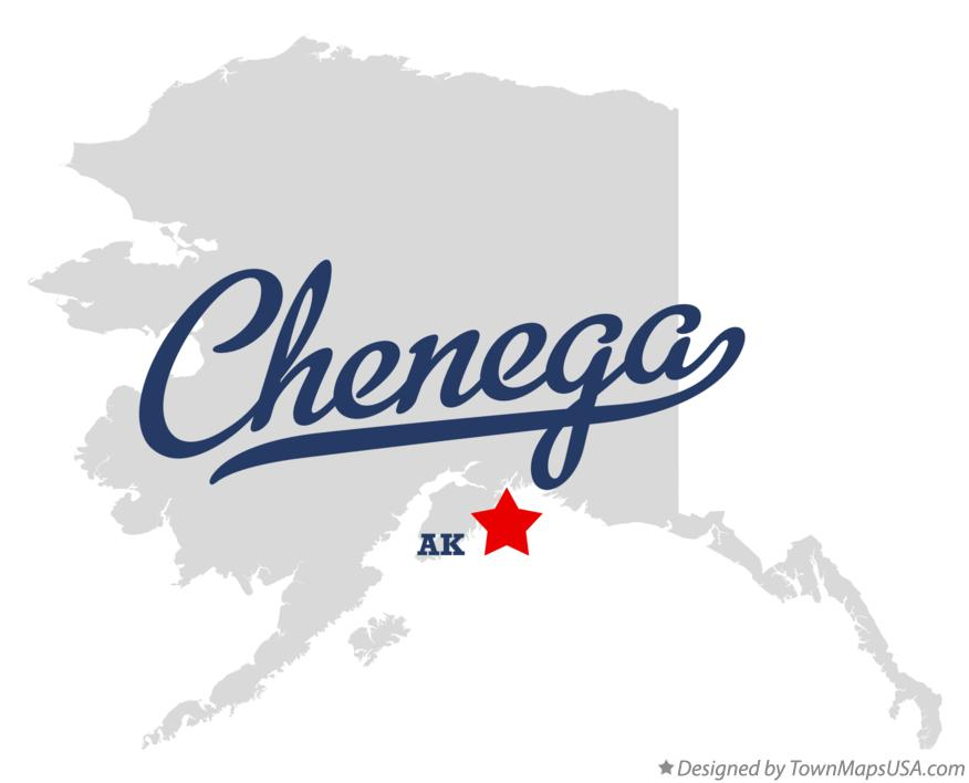 Map of Chenega Alaska AK