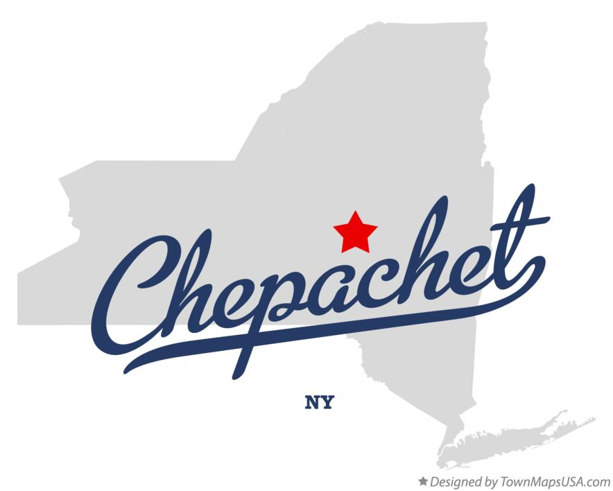 Map of Chepachet New York NY