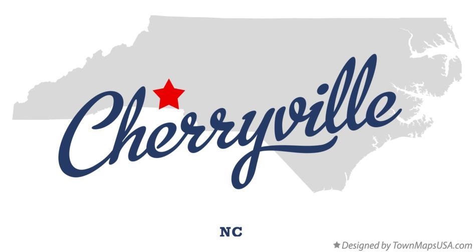 Map Of Cherryville Nc North Carolina