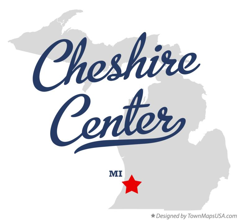 Map of Cheshire Center Michigan MI