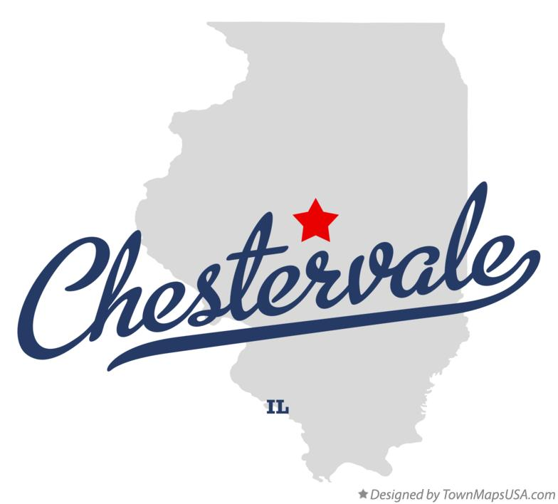 Map of Chestervale Illinois IL