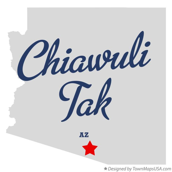 Map of Chiawuli Tak Arizona AZ