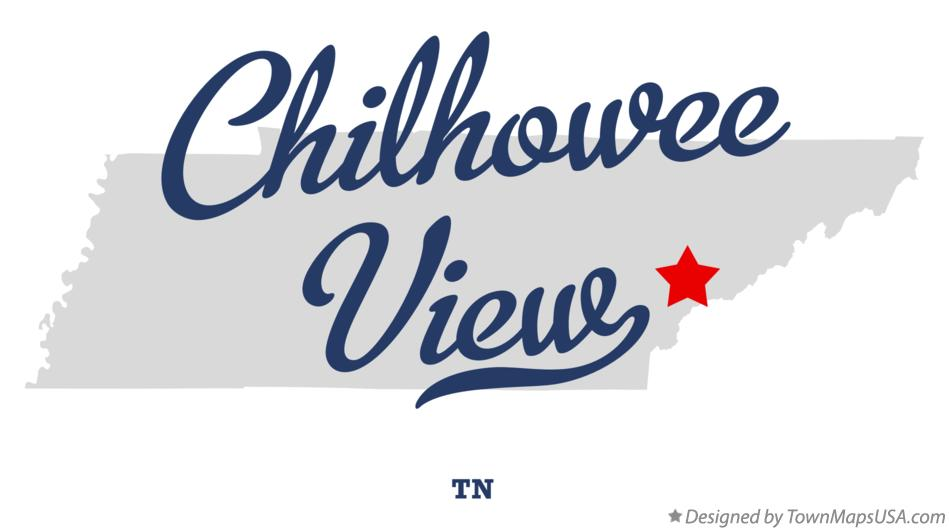 Map of Chilhowee View Tennessee TN