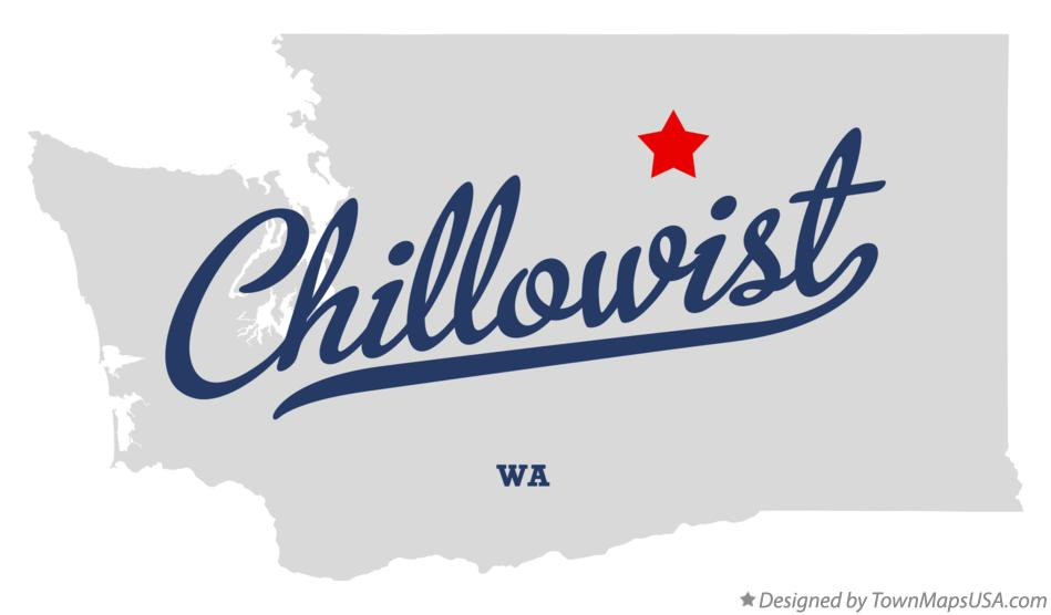 Map of Chillowist Washington WA