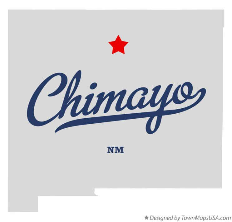 Map of Chimayo New Mexico NM
