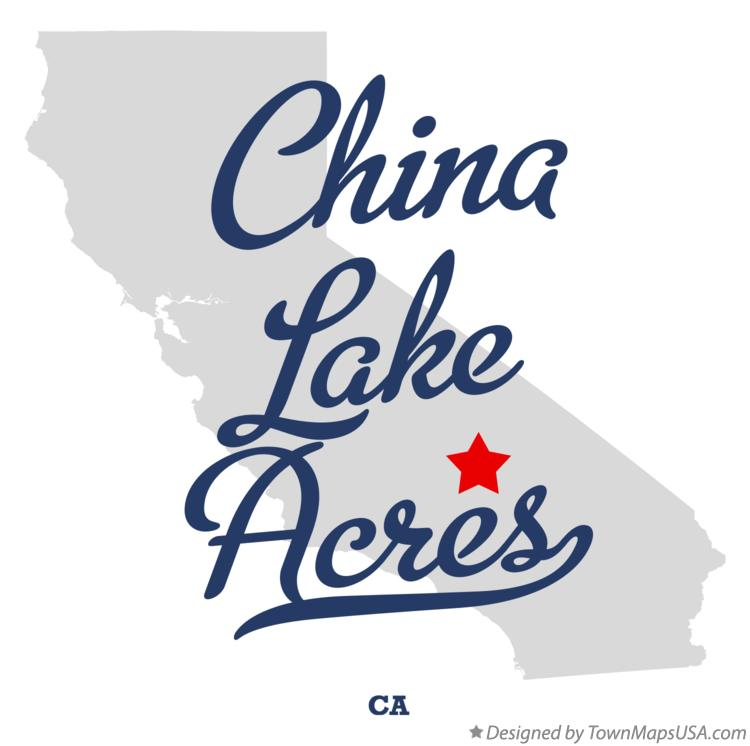 Map of China Lake Acres California CA