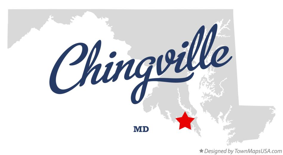 Map of Chingville Maryland MD