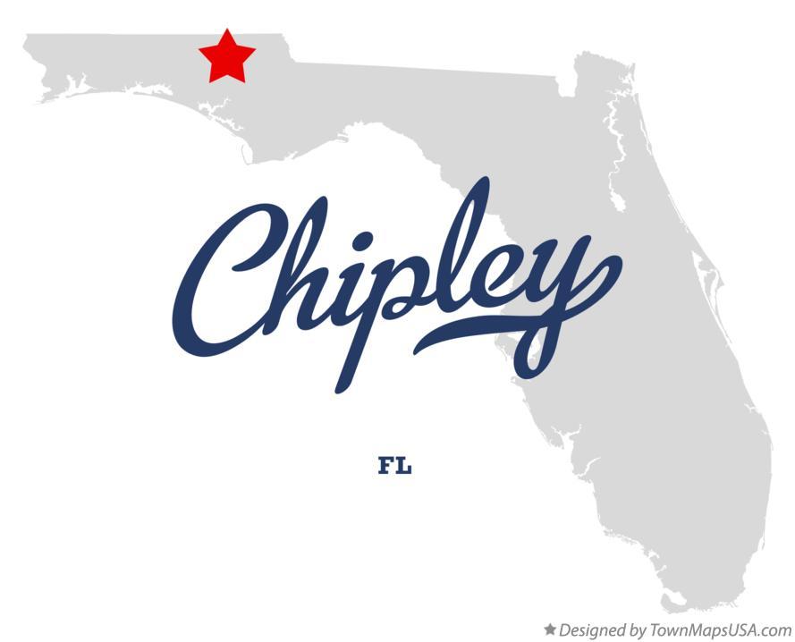 Chipley Florida Map.Map Of Chipley Fl Florida