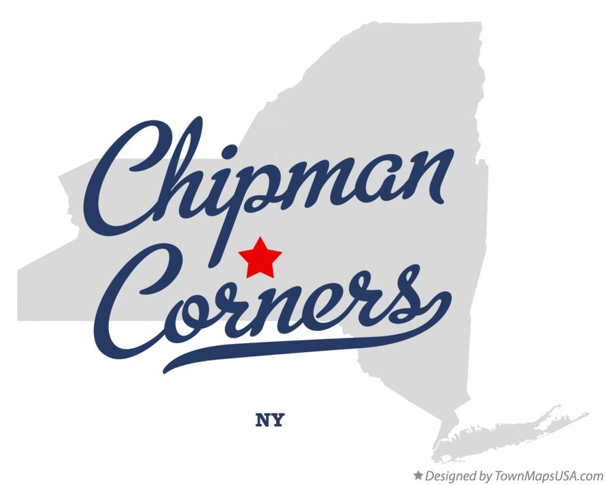 Map of Chipman Corners New York NY
