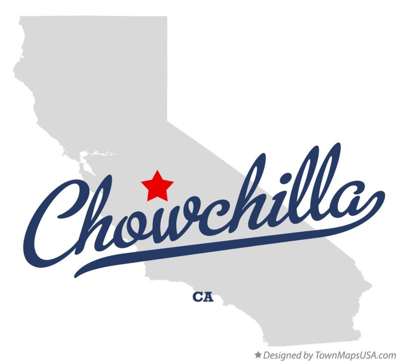 Map of Chowchilla California CA