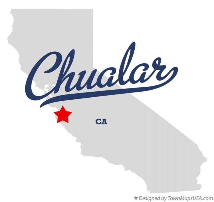 Map of Chualar CA California