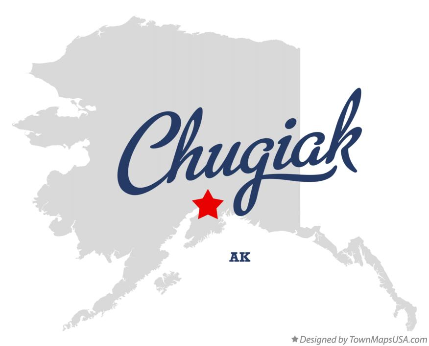 Map of Chugiak Alaska AK