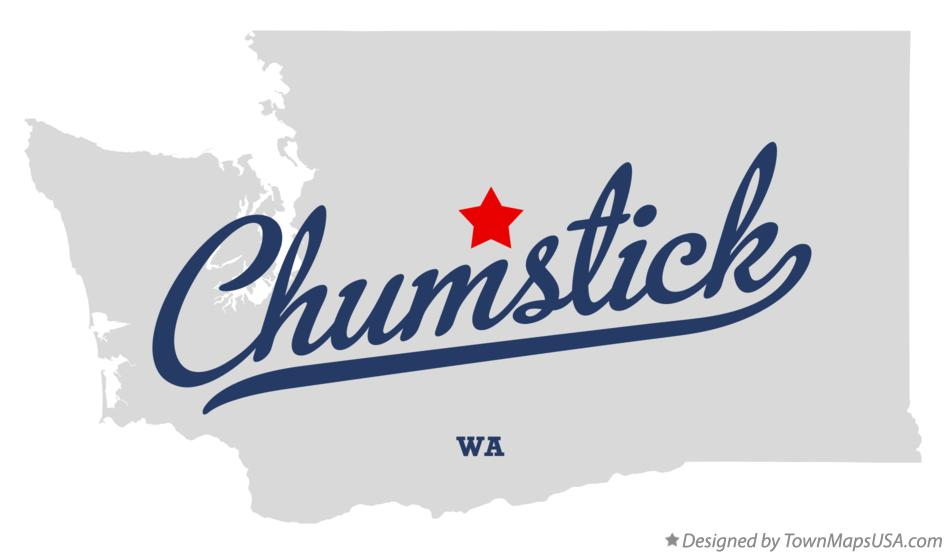 Map of Chumstick Washington WA