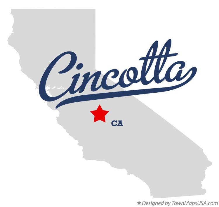Map of Cincotta California CA