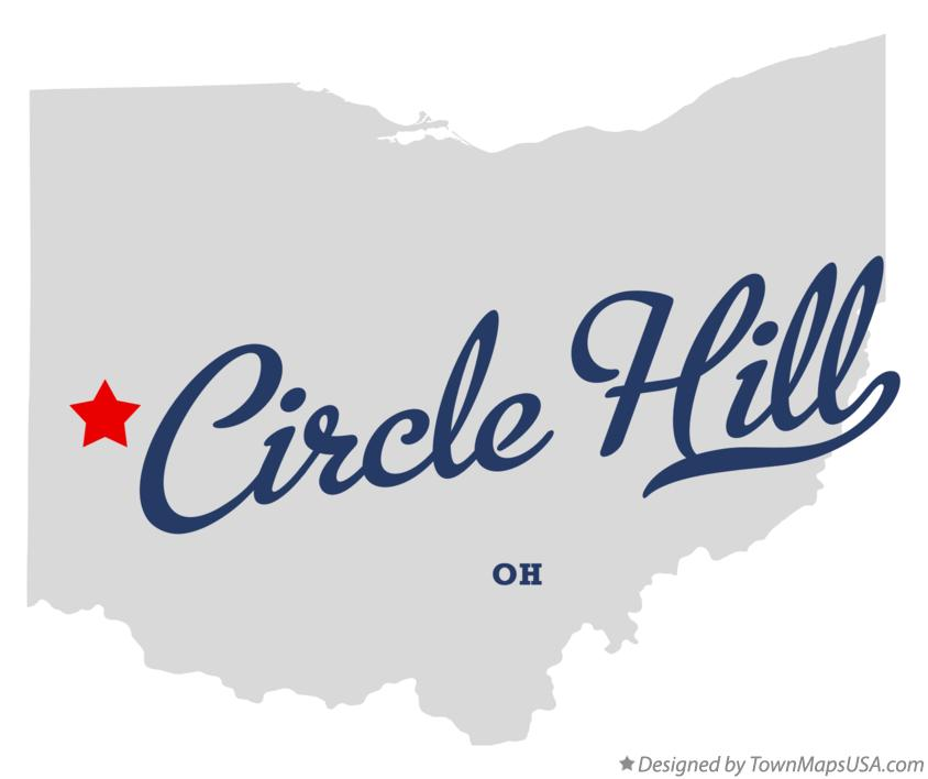 Map of Circle Hill Ohio OH