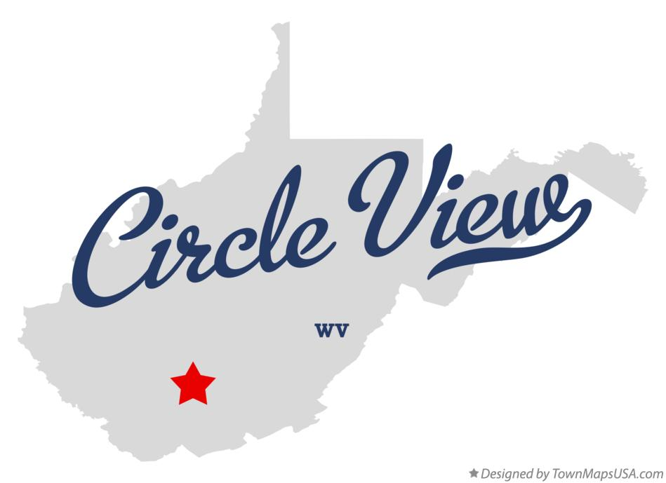 Map of Circle View West Virginia WV