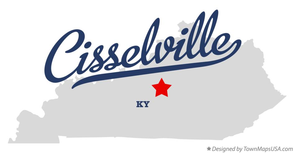 Map of Cisselville Kentucky KY