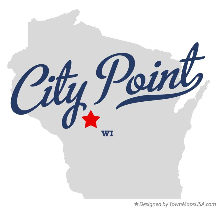 Map of City Point Wisconsin WI