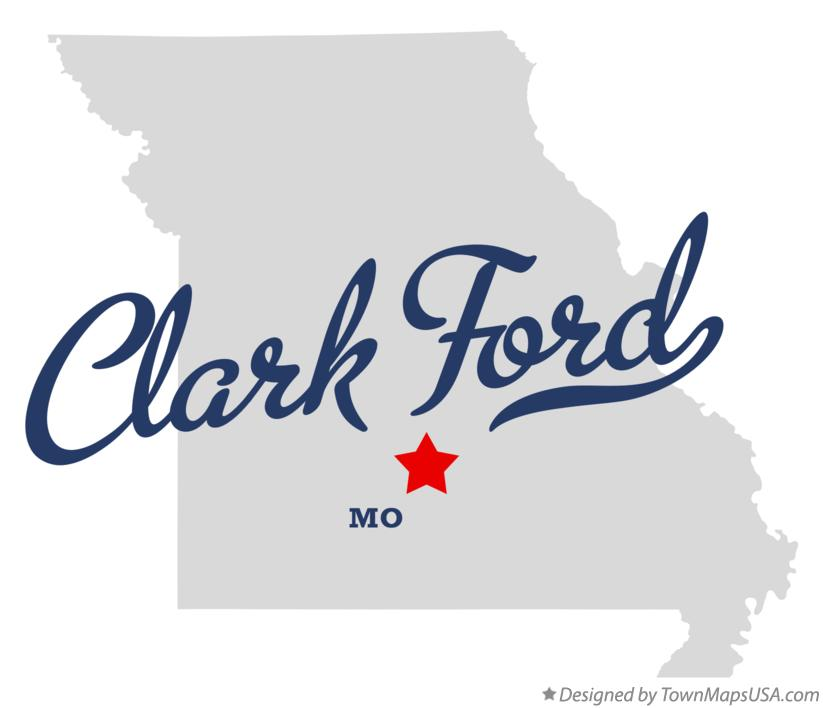 Map of Clark Ford Missouri MO