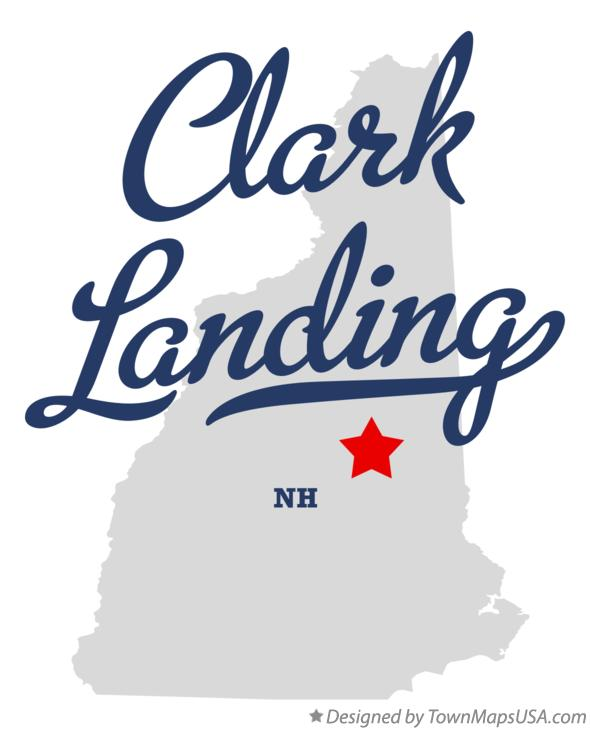 Map of Clark Landing New Hampshire NH