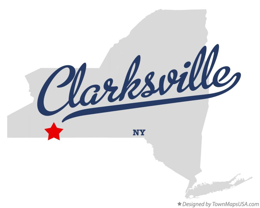 Map of Clarksville New York NY