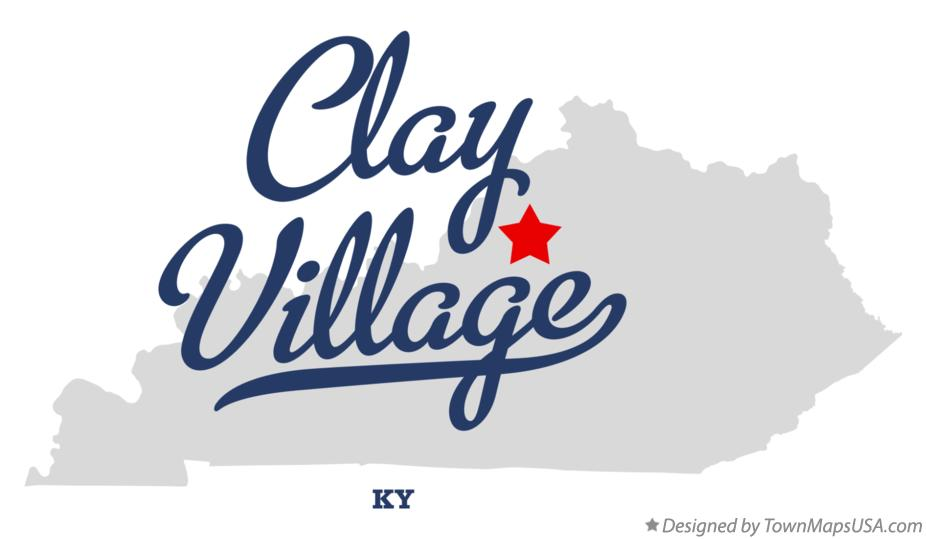 Map of Clay Village Kentucky KY