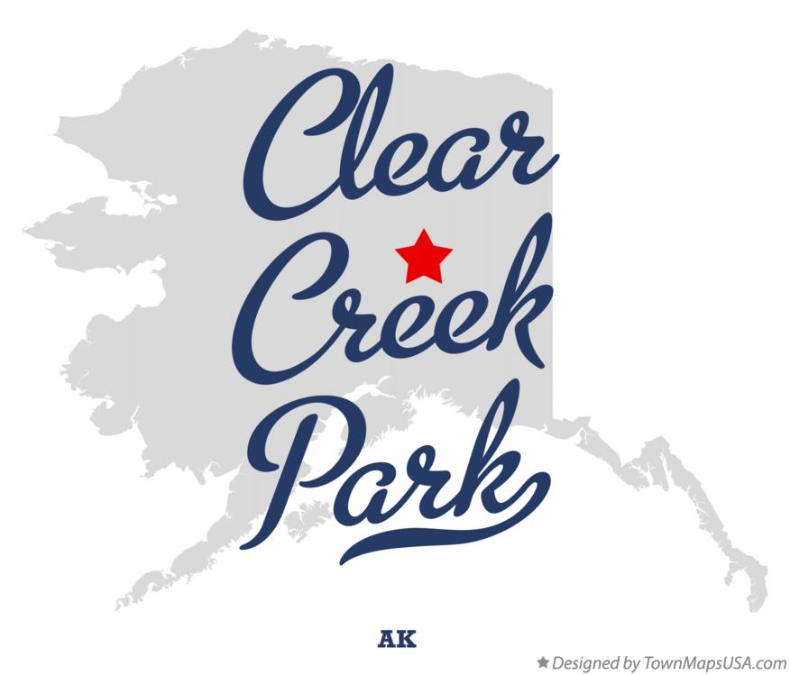 Map of Clear Creek Park Alaska AK