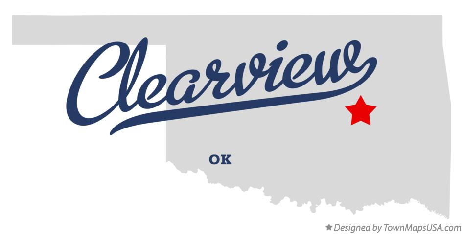 Map of Clearview Oklahoma OK