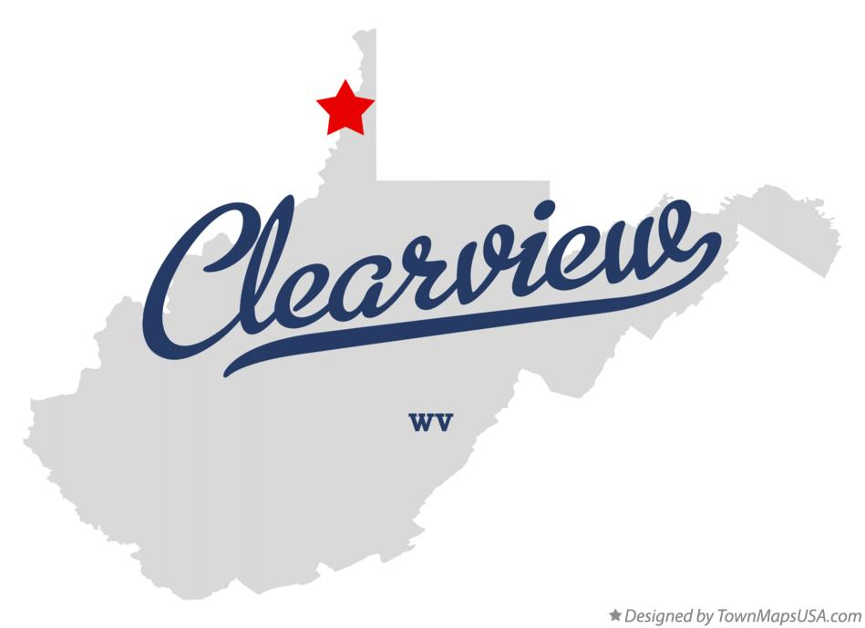 Map of Clearview West Virginia WV