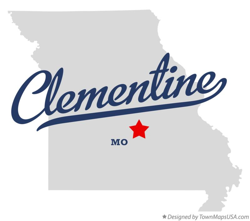Map of Clementine Missouri MO