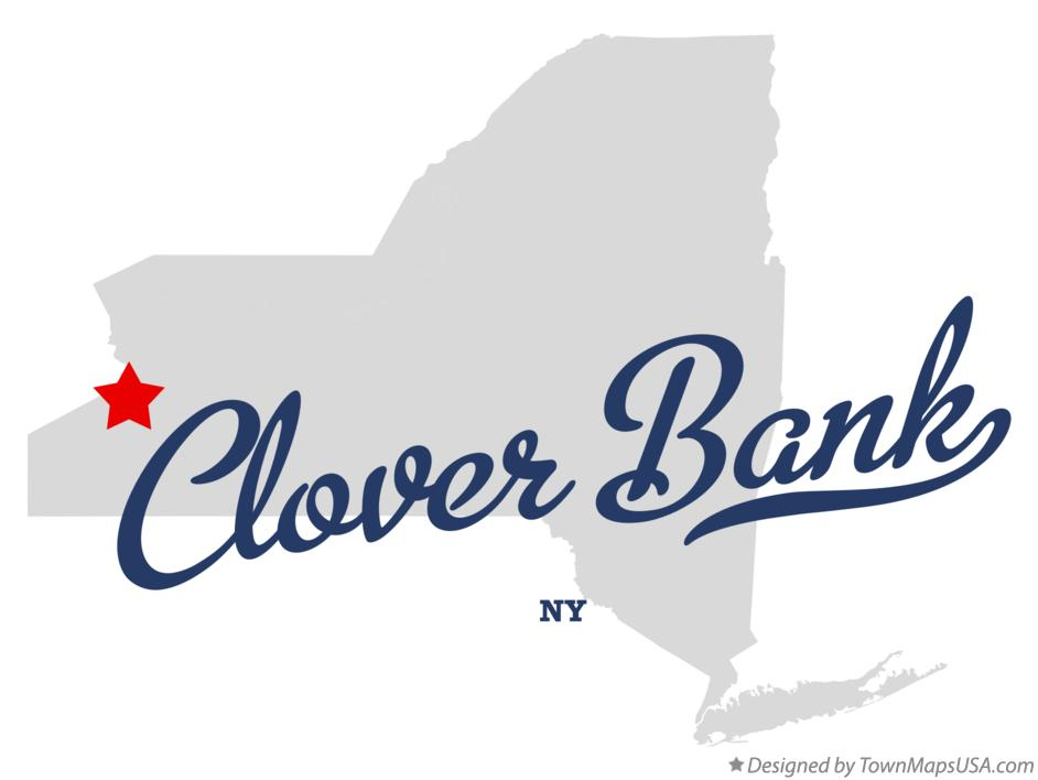 Map of Clover Bank New York NY