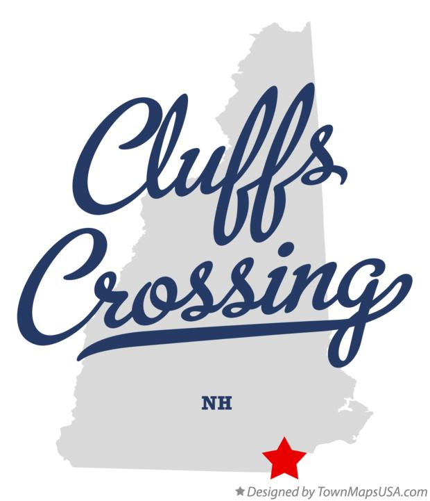 Map of Cluffs Crossing New Hampshire NH