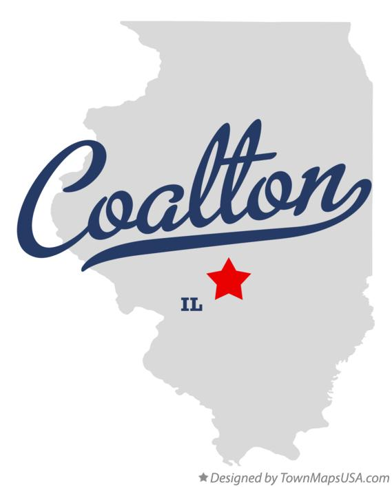 Map of Coalton Illinois IL